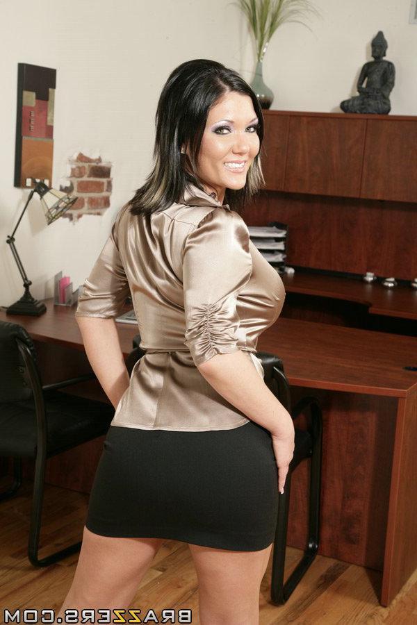 Секретарша с большой задницей в хорошем качестве фотоография